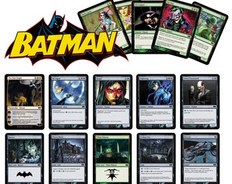 Batman: The Gotham Knight Magic Trading Cards - Complete Playable Deck of 63 Cards
