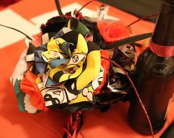 Comic Flower Bouquet