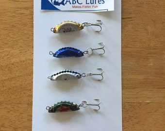 ABC lures- 5 pack includes free gift