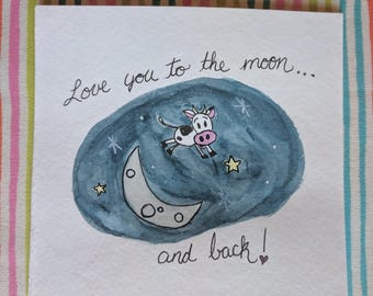 Love you to the moon minis
