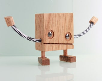Wood Robot #7