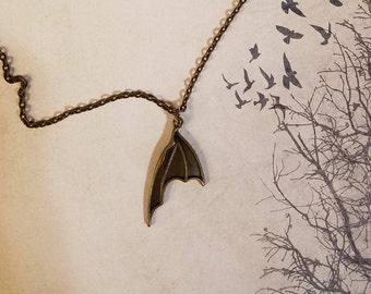 Bat Wing Necklaces