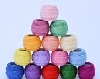 Tatting Thread Size 80, 6 ply DMC Cotton 5 gram 106 yard ball, Special Dentelles