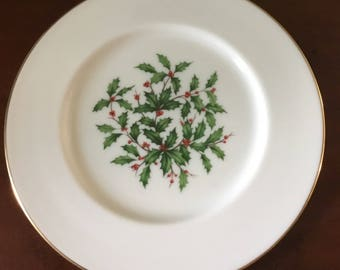 Lenox Holiday Special Salad Plate