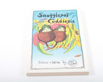 Snugglepot and Cuddlepie, May Gibbs, Vintage, Children's, Classic, Story, Book, Adventure, Illustrated, Paperback ~ The Pink Room ~ 170323