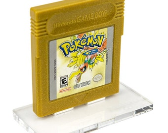 Gameboy Color Cartridge Display Stand