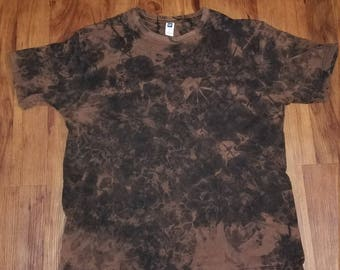 Distressed Bleached Black T-shirt