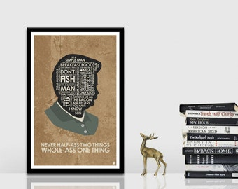 Parks & Receation - Ron Swanson Quote Poster