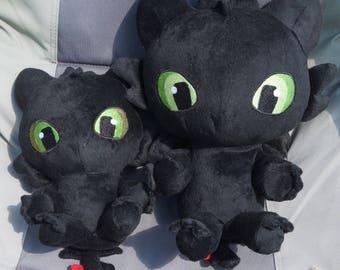 Kawaii Toothless Dragon Plush Toy