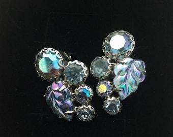 1950's Weiss Clip Earrings