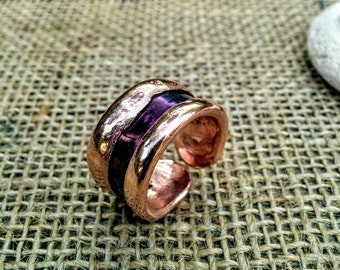 Titanium Cuff Ring