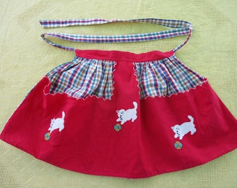Childs apron from 1950's