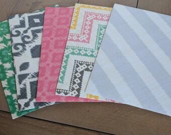 A7 patterned envelopes
