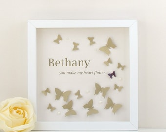 Personalised Flutter Butterfly
