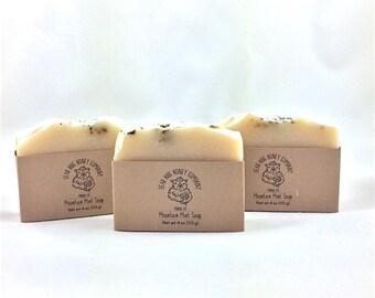 Mountain Mint Honey Soap