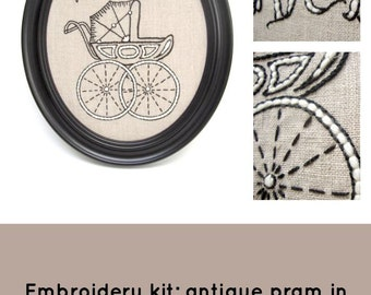 Pram Embroidery Kit