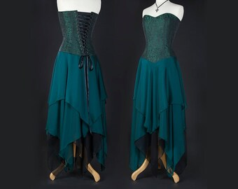 Corset Dress - Faery / Boho / Handfasting - More colours