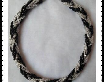 Vintage Multi-Strand Beaded Necklace