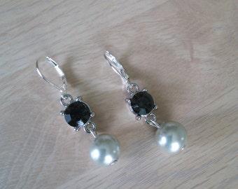 Swarovski Gray Earrings