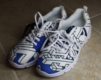 Running Shoes - Interdimensional (Blue)