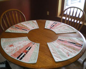 Round Placemat set 24x14