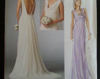 Vogue 2965 - Bridal Original - Misse's Dress - Size 4-6-8