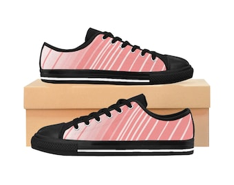 Stripes Sneakers Shoes Women Casual Lightweight Athletic Walking