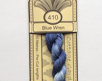 Cottage Garden Thread - 410 Blue Wren