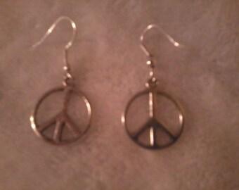 Peace Earrings FREE shipping