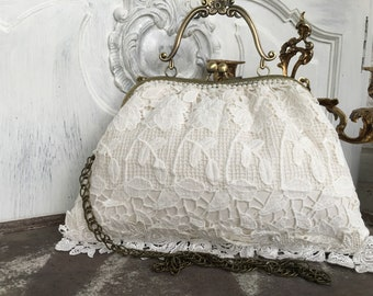 Handbag, evening bag, shoulder bag, ironing bag, bridal bag, bridal, bag