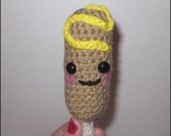 Crochet Pattern - Happy Little Corn Dog