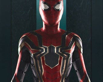 High Quality The Civil War Homecoming Iron Spider-Man 3D Printing Cosplay Costume
