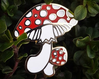 Fly Agaric Lapel Pin