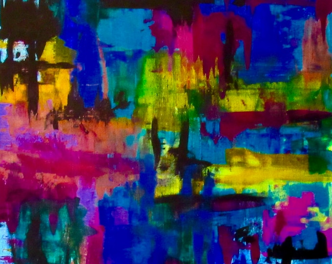 """Abstract Painting """"WIthin Layers 3"""""""
