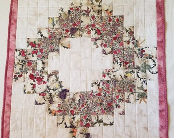 Springtime Wreath Quilted Wall Hanging