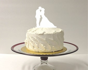 MADE In USA, Beautiful Silhouette Cake Topper Bride and Groom Silhouette Wedding Cake Topper Bride and Groom Cake Topper