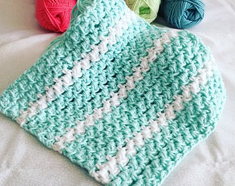 Speed Puff  Easy Crochet Washcloth Pattern