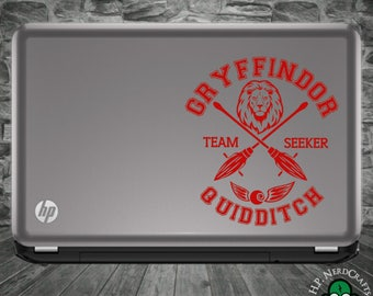Gryffindor Quidditch Decal