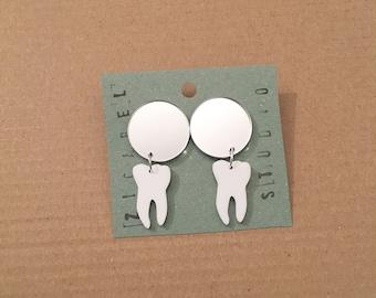 acrylic tooth studs