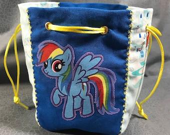 Rainbow Dash My Little Pony Dice Bag