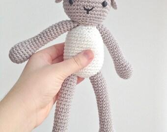 Lamb Plush, Lamb Stuffed Animal, Lamb Plushie, Lamb Stuffed Toy, Sheep Plush, Sheep Plush Toy