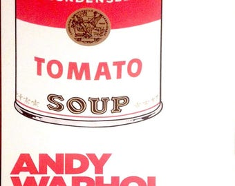 ANDY WARHOL - original exhibition poster - extremely rare (Gallery of Modern Art, Brisbane)