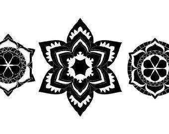 Mandala Vinyl Decal
