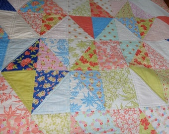 Diamonds at Large Quilt