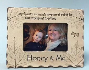 Honey Frame, Honey gift, best Honey gift