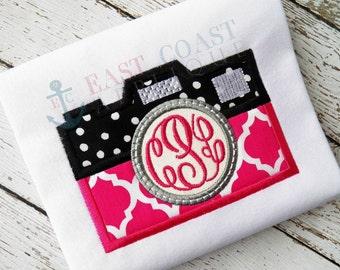 CAMERA machine embroidery design