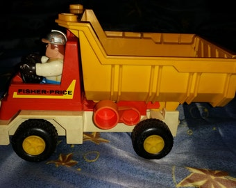 Fisher Price Dump Truck with figure