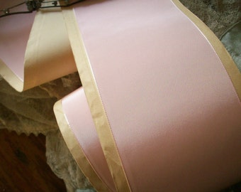 1 yd. of this Stunning Ballet pink taffeta ribbon 3""
