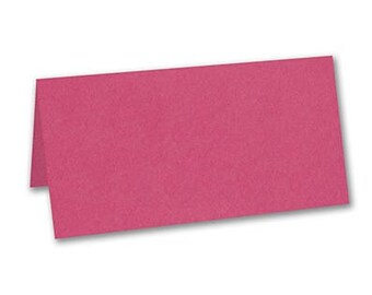 Fuchsia Place Cards (Set of 50) Wedding Shower Party Decorations