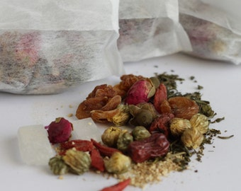Eight Treasures Tea (50g, 100g, 150g and 200g with tea tin)